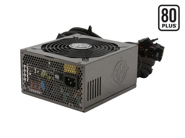 BFG Tech ES SERIES ES-800 800W Continuous @ 40°C ATX12V 2.3 / EPS12V 2.92 SLI Certified CrossFire Ready 80 PLUS Certified Active PFC SLI Power Supply