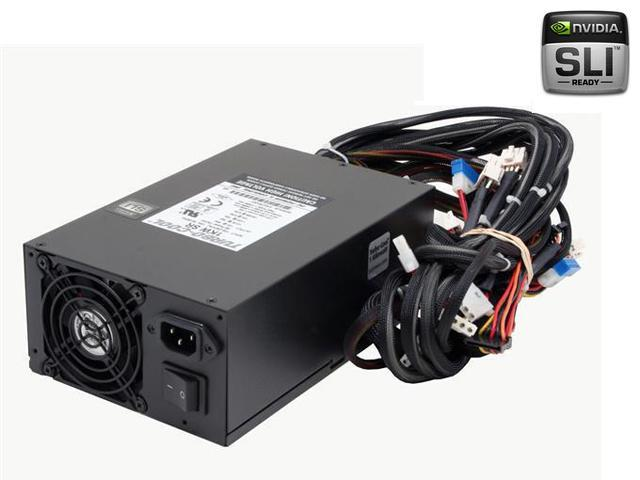 PC Power and Cooling Turbo-Cool 1KW-SR 1000W Continuous @ 50°C EPS12V SLI Certified CrossFire Ready Active PFC Power Supply
