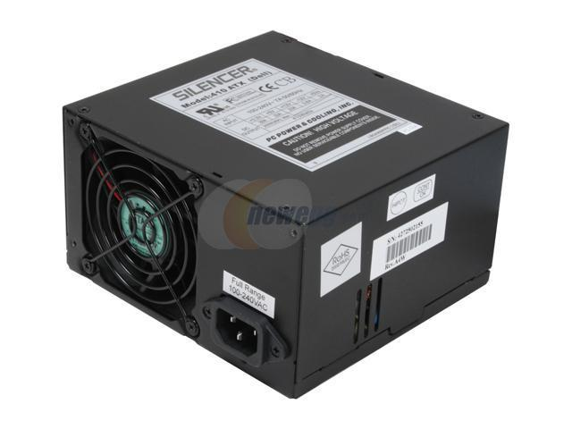 PC Power and Cooling Silencer S41D2 410W Power Supply