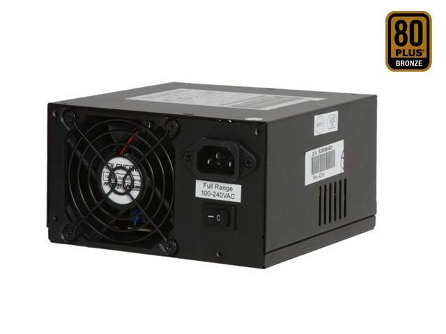 PC Power and Cooling Silencer PPCS500 500W ATX12V / EPS12V SLI Ready CrossFire Ready 80 PLUS Certified Active PFC Power Supply compatible with core i7