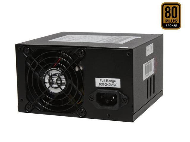 PC Power & Cooling Silencer PPCS500D 500W ATX12V / EPS12V SLI Ready CrossFire Ready 80 PLUS Certified Active PFC Power Supply compatible with core i7