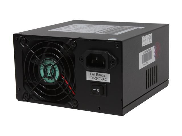PC Power and Cooling Silencer PPCS370X 370W ATX12V 80 PLUS Certified Active PFC Power Supply