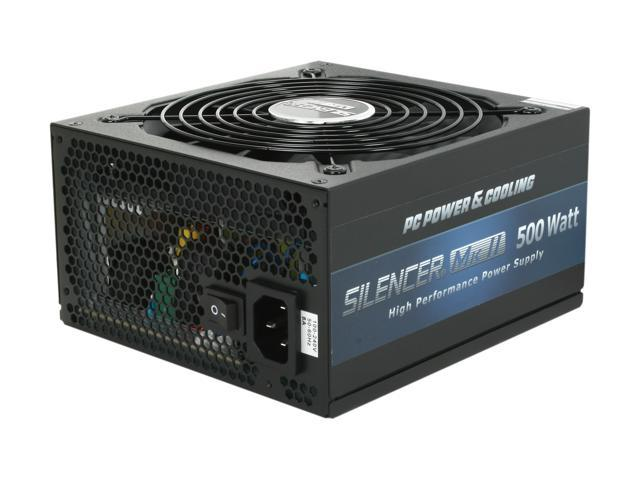 PC Power and Cooling Silencer Mk II PPCMK2S500 500W Power Supply