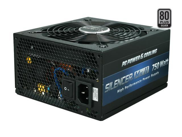 PC Power and Cooling Silencer Mk II PPCMK2S750 750W Power Supply