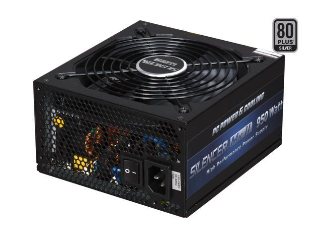 PC Power and Cooling Silencer Mk II PPCMK2S950 950W Power Supply Compatible with Core i5 & i7