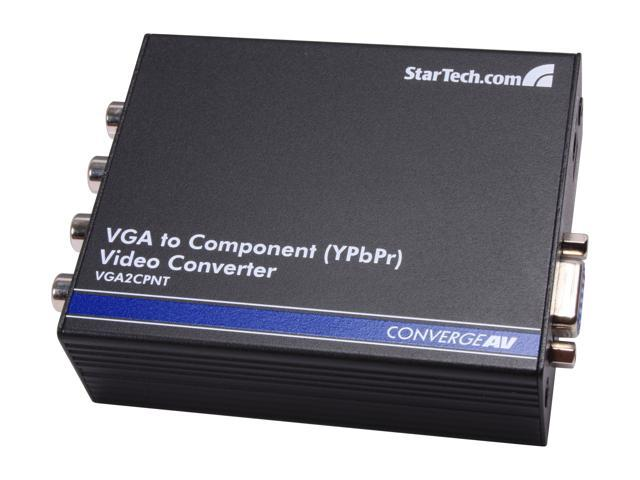 StarTech VGA2CPNT VGA to Component (YPbPr) Video Converter