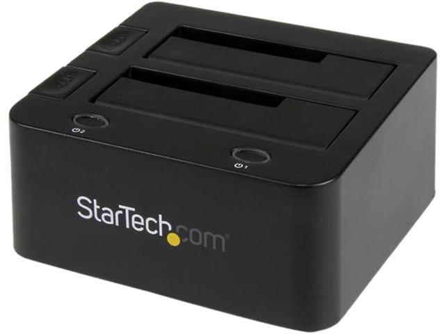 StarTech.com Universal Hard Drive Docking Station 2.5 and 3.5 Inches HDD and SSD with UASP and SATA III (UNIDOCKU33)