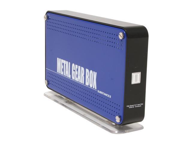 Galaxy METAL GEAR Metal Gear Box II 3506UC-Blue Blue External Enclosure