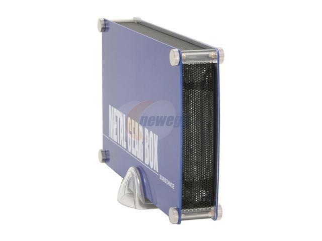 Galaxy METAL GEAR 3500SASP-Blue Blue External Enclosure