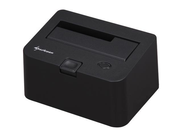 Sharkoon SATA QuickPort USB3.0 Black Docking Stations