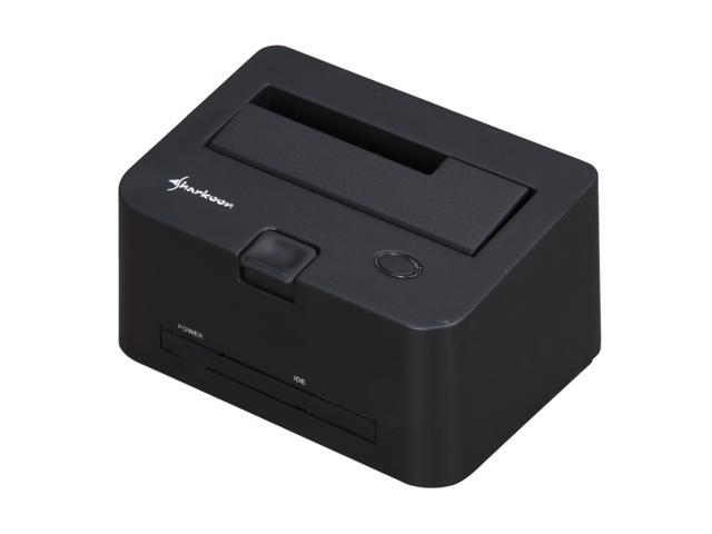 Sharkoon QuickPort Combo eSATA Black Hard Drive Docking