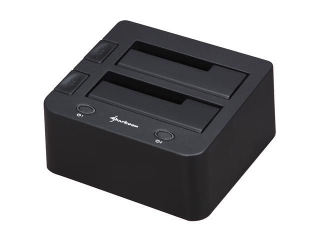 Sharkoon SATA QuickPort Duo Black Hard Drive Docking