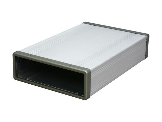 SYBA SD-ENC55002 Silver SATA Optical Drive Enclosure