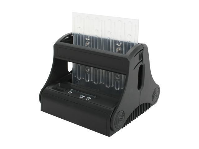 SYBA SD-ENC50036 Black Hard Disk Drive Docking Station