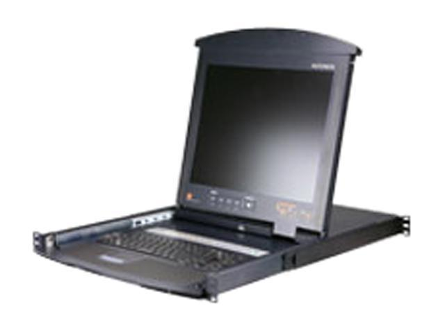 "ATEN KL9108M 17"" LCD with IP Over the NET & 8 Ports KVM Switch"