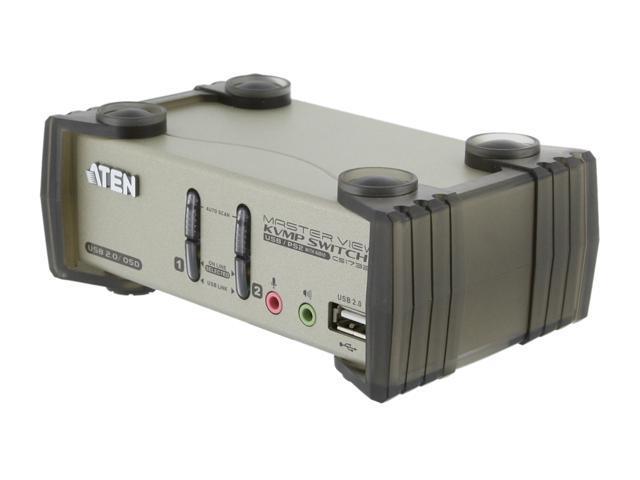 ATEN CS1732B 2-Port USB KVMP Switch with Audio Support