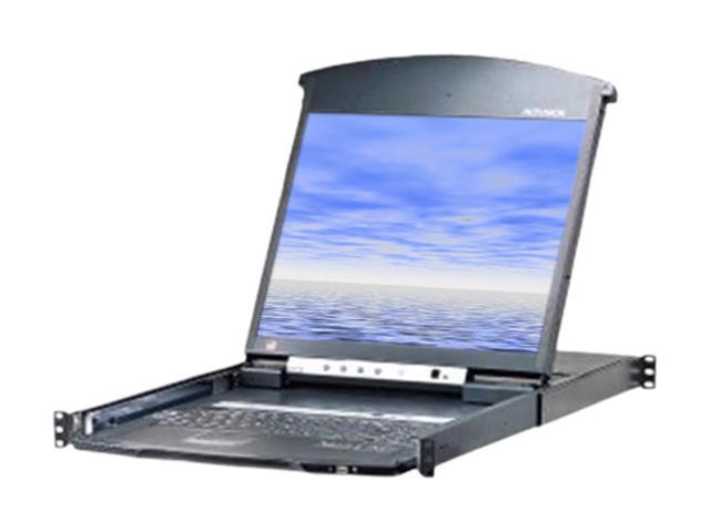 ATEN KL1508AiN 8-Port 19in. Dual Rail CAT5 LCD KVM Over the Net