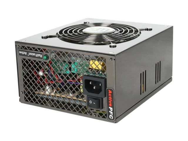 Mushkin Enhanced 550250 580W ATX12V / EPS12V SLI Certified CrossFire Ready Modular Active PFC Power Supply