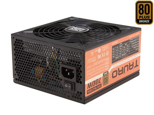 XIGMATEK Tauro Series CPA-0700BDD-F51 700W ATX12V V2.3 SLI Certified CrossFire Ready 80 PLUS BRONZE Certified Active PFC Power Supply