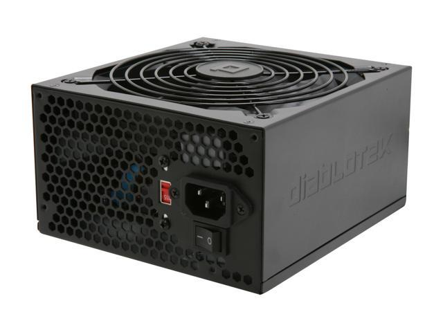 Diablotek UL Series PSUL675 675W ATX 12V v2.31 SLI Ready CrossFire Ready Power Supply