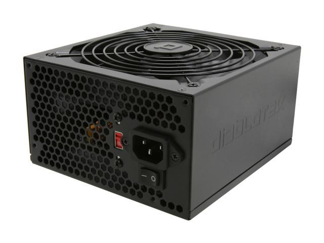Diablotek UL Series PSUL575 575W ATX 12V v2.31 SLI Ready CrossFire Ready Power Supply