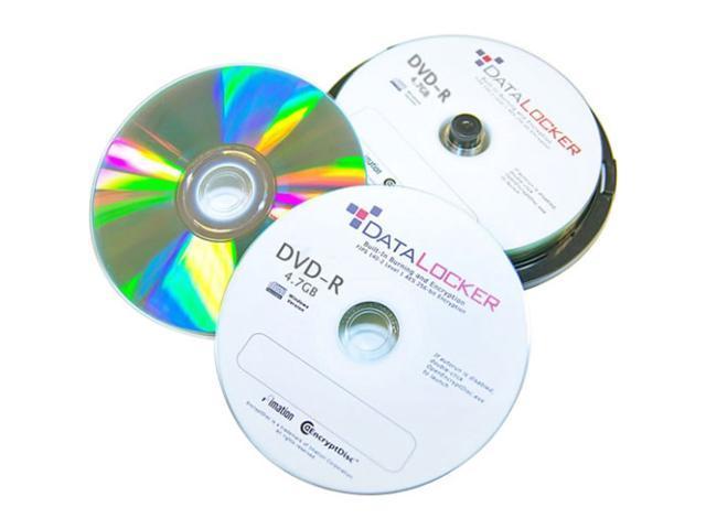 DataLocker 4.7GB DVD-R 100 Packs Disc Model DLDVD100