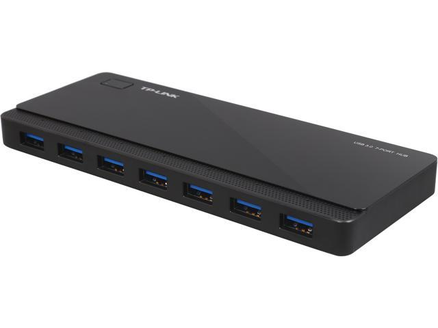 TP-LINK UH700 USB 3.0 7 port Desktop Hub, with Power Adapter