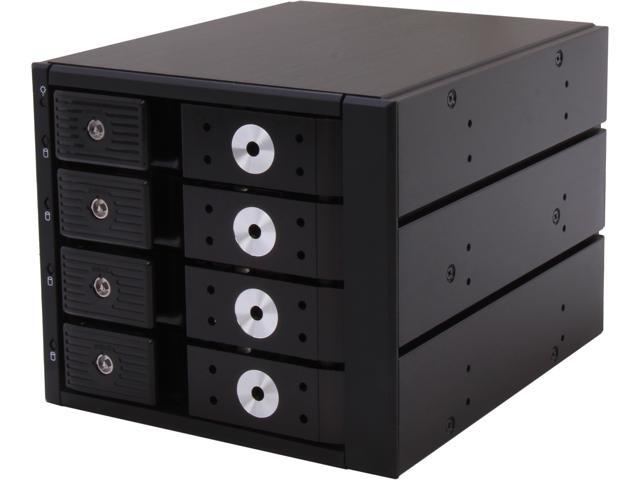 "SNT SNT-BPSS403ATL 3 x 5.25"" Bay to 4 x 3.5"" Hotswap SATA/SAS HDDs 6.0 Gbps Tray-Less backplane"