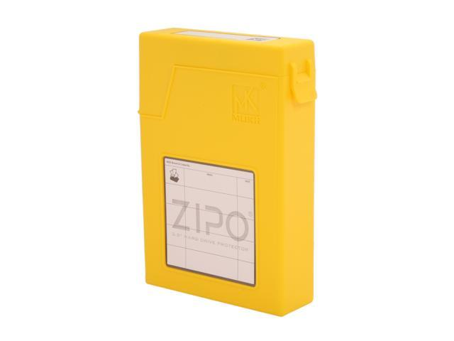 "Mukii ZIO-P010-YL 3.5"" HDD Protector, Yellow Color"
