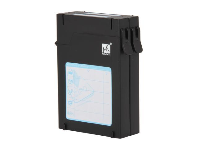 "Mukii ZIO-P210-BK 2.5"" HDD Protector Case (2pcs Pack) -Black"
