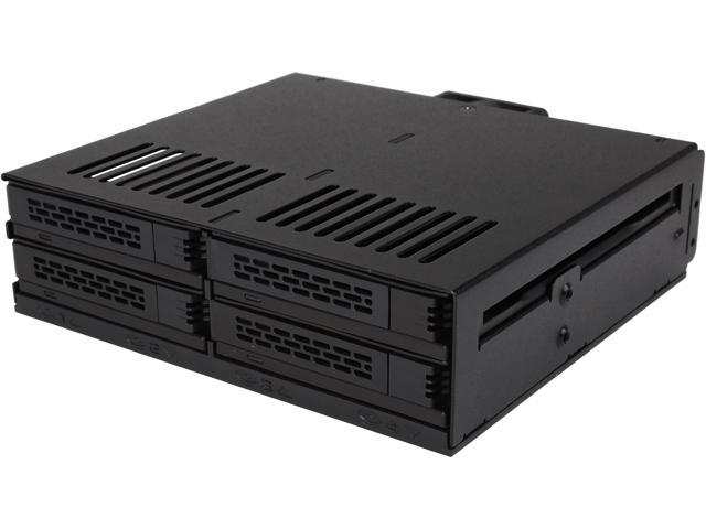 Icy Dock 4 X 2 5 Ssd To 25 Drive Bay Hot Swap Backplane Cage Mobile Rack