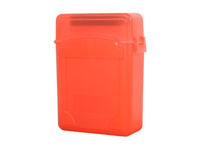 SYBA SY-ACC25010 2.5 inch IDE/Sata HDD Storage Box (Red Color)