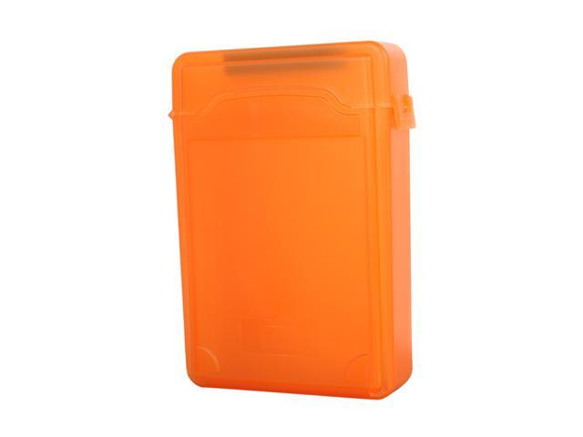 SYBA SY-ACC35012 3.5 inch IDE/Sata HDD Storage Box (Orange Color)