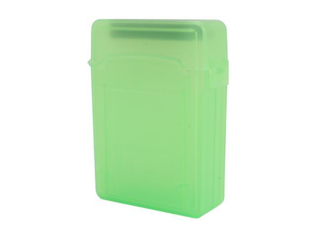 SYBA SY-ACC25011 2.5 inch IDE/Sata HDD Storage Box (Green Color) - OEM