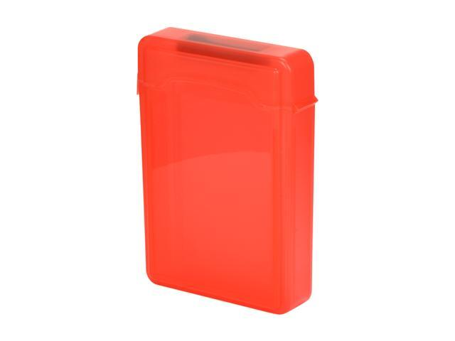 SYBA SY-ACC35009 3.5 inch IDE/Sata HDD Storage Box (Red Color)