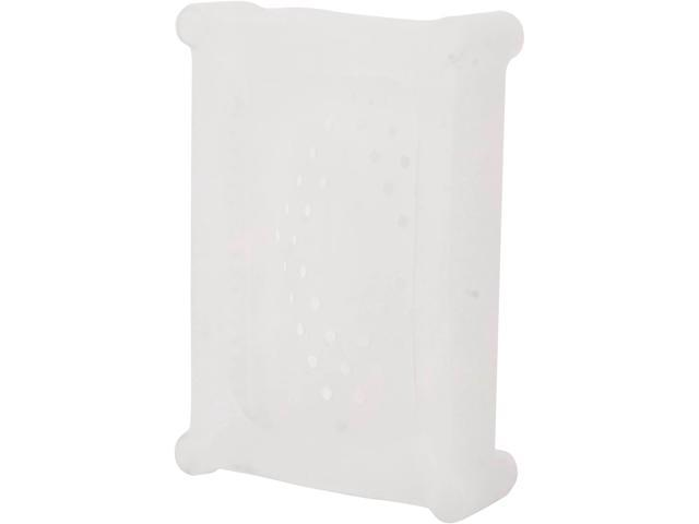 "SYBA SI-ACC35023 3.5"" SATA/IDE HD Soft Gel Protector Cover, Protective Soft Silicone Skin - White"