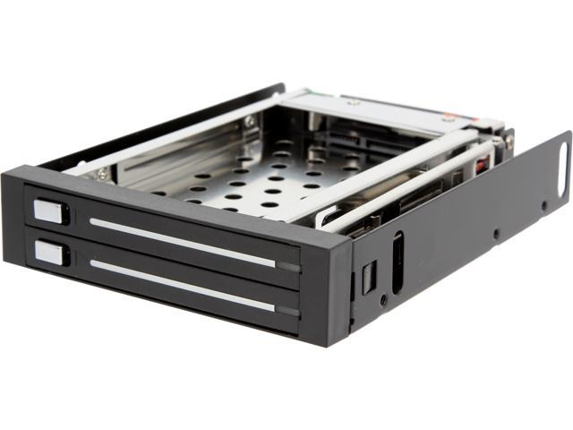 SYBA SI-MRA25030 Mobile Rack Hosts Two 2.5
