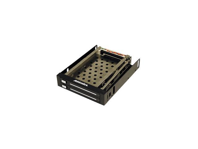 Addonics AE25SNAP2SA Snap-In Double Drive Mobile Rack