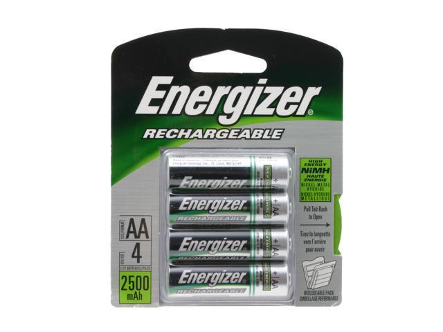 Energizer NH15BP-4 4-pack 2300mAh AA Ni-MH Batteries