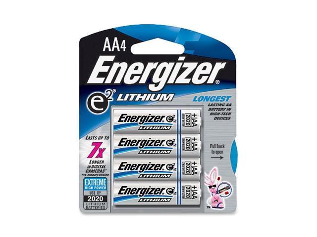 Energizer L91BP-4 4-pack AA Lithium Batteries