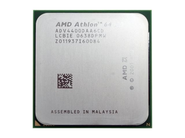 AMD Athlon 64 X2 4400+ Toledo Dual-Core 2.2 GHz Socket 939 ADV4400DAA6CD Processor