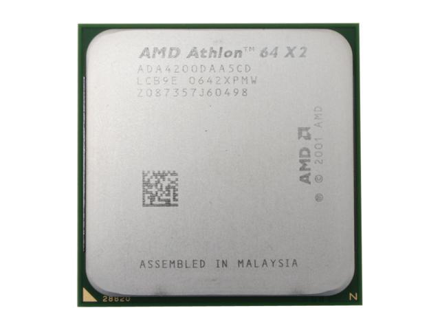 AMD Athlon 64 X2 4200+ Toledo Dual-Core 2.2 GHz Socket 939 89W ADA4200DAA5CD Processor
