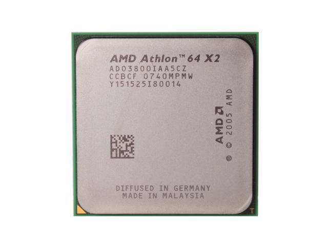 AMD Athlon 64 X2 3800+ Windsor Dual-Core 2.0 GHz Socket AM2 65W ADO3800IAA5CZ Processor