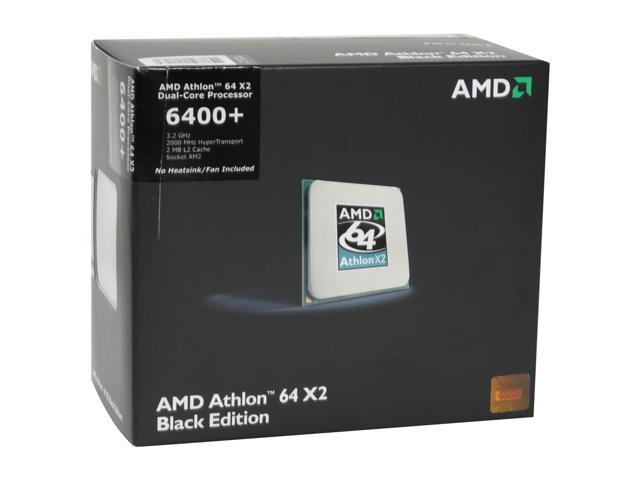 AMD Athlon 64 X2 6400+ 3.2 GHz Socket AM2 ADX6400CZWOF Processor