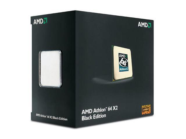 AMD Athlon 64 X2 5000+ Brisbane Dual-Core 2.6 GHz Socket AM2 65W ADO5000DSWOF Black Edition Processor