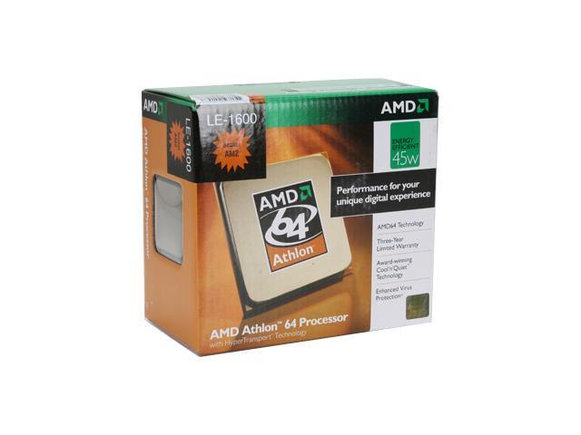AMD Athlon 64 LE-1600 Single-Core 2.2 GHz Socket AM2 45W ADH1600DHBOX Processor