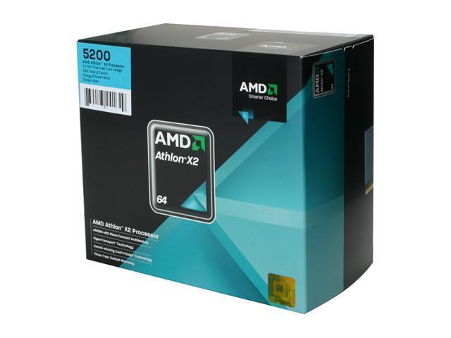 AMD Athlon 64 X2 5200 2.7 GHz Socket AM2 ADO5200DOBOX Processor