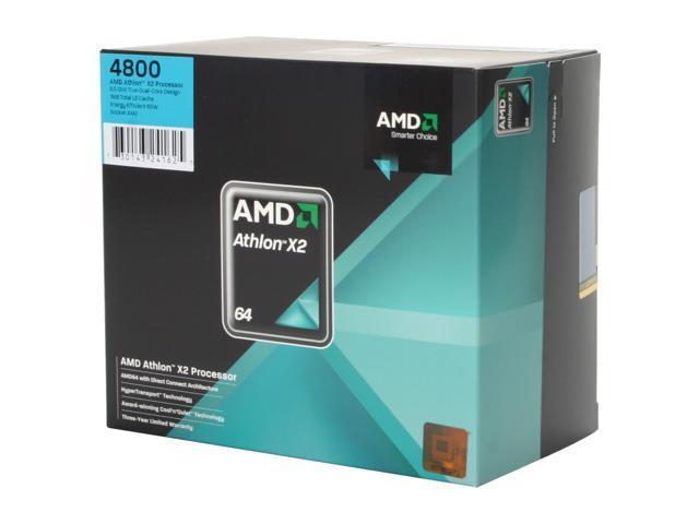 AMD Athlon 64 X2 4800+ 2.5 GHz Socket AM2 ADO4800DOBOX Processor