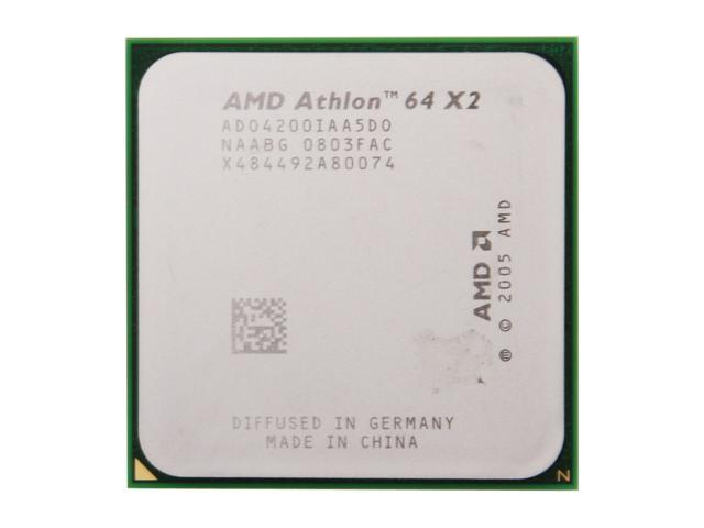 AMD Athlon 64 X2 4200+ 2.2 GHz Socket AM2 ADO42000IAA5DO Processor