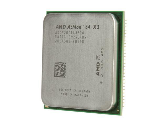 AMD Athlon 64 X2 5200+ 2.7 GHz Socket AM2 ADO5200IAA5DO Processor - OEM